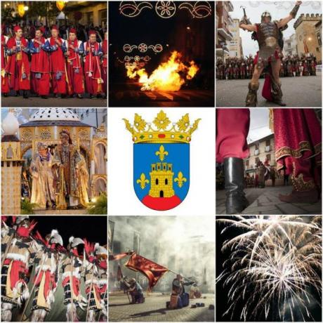 The Moors & Christians Festivities in honour of the Virgen de la Salud