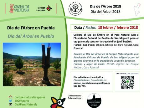 Día del árbol en Puebla de San Miguel