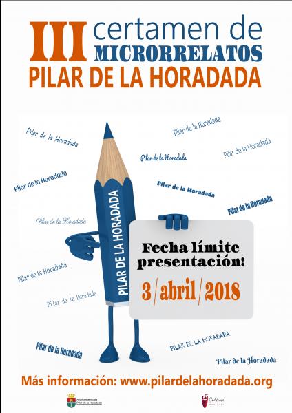 III Certamen de Microrrelatos 'Municipio de Pilar de la Horadada' 2018