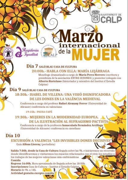 Marzo Internacional de la Mujer