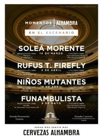 Momentos Alhambra en el escenario 2018