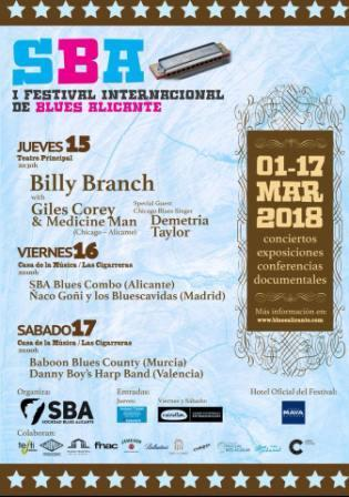 I Festival Internacional de Blues Alicante 2018