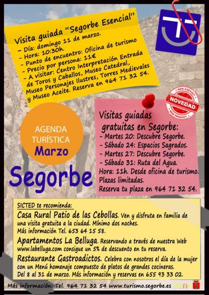 Agenda Turística SICTED Segorbe