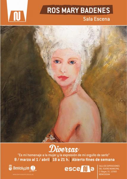 """Exposición: Ros Mary Badenes """"Diversas"""""""