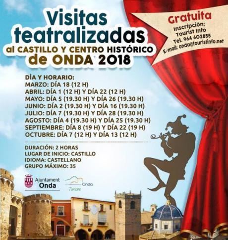 VISITAS TEATRALIZADAS EN ONDA