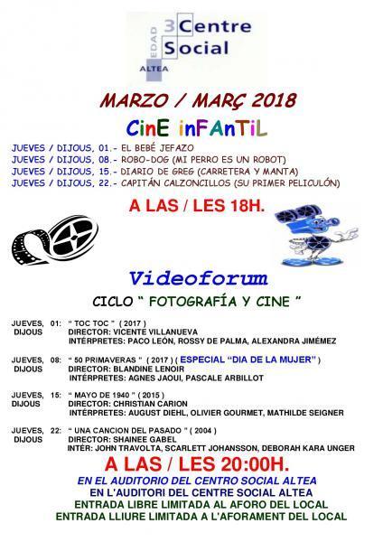 Videoforum Marzo