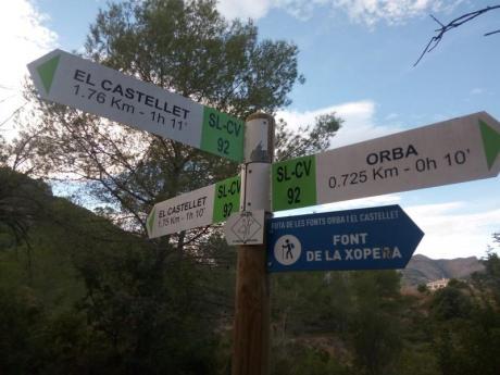 """Descubre nuestra comarca """"Orba-Fonts-Castellet"""""""