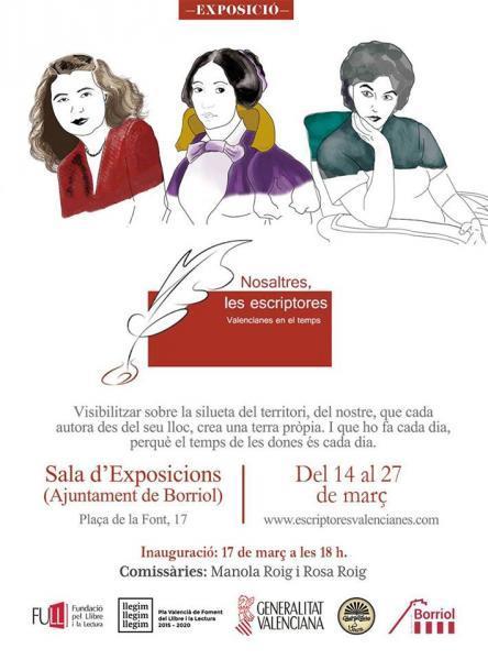 Exposició: Nosaltres, les escriptores. Valencianes en el temps