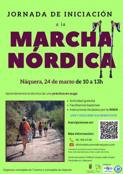 Marcha nórdica en Náquera