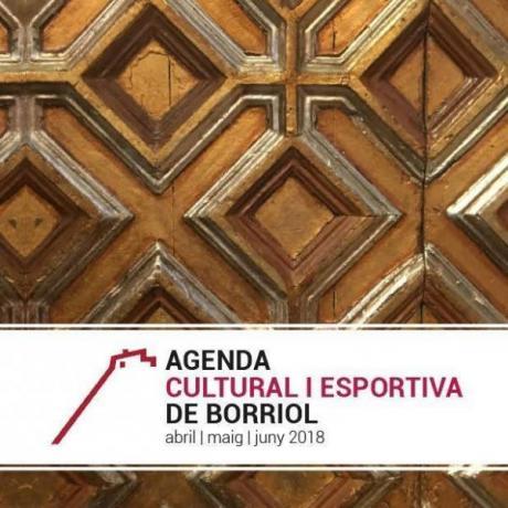 Agenda Cultural y Deportiva de Borriol.
