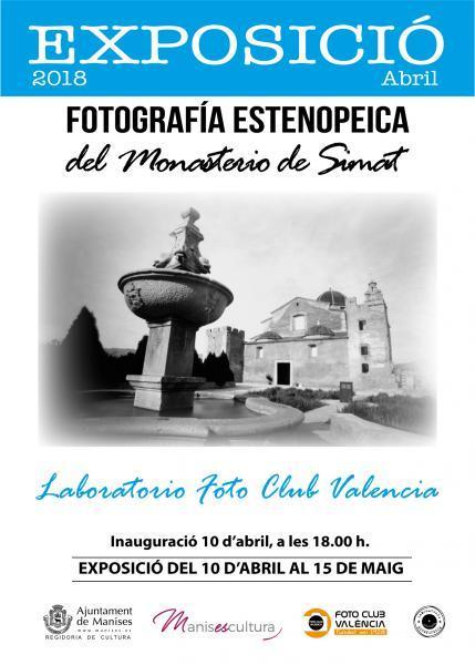 Fotografía Estenopeica del Monasterio de Simat