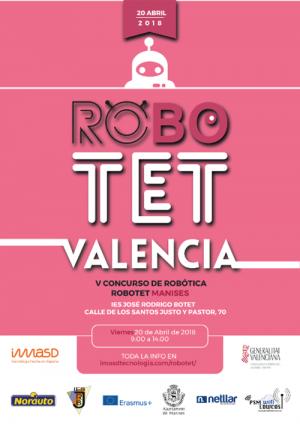 V Concurso de Robótica ROBOTET