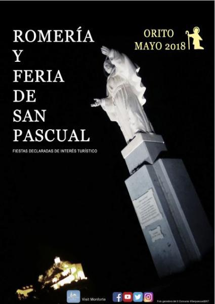 Programa Romería y Feria San Pascual 2018. Orito