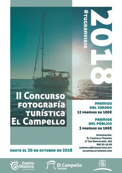 II Concurso de Fotografía Turística El Campello #TuGranViaje