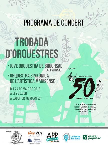 """""""Trobada"""" de Orquestas en Manises 2018"""