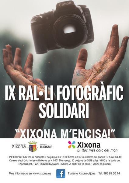 IX RALLY FOTOGRÁFICO SOLIDARIO