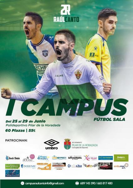I Campus Fútbol Sala 'Raúl Canto' en Pilar de la Horadada 2018