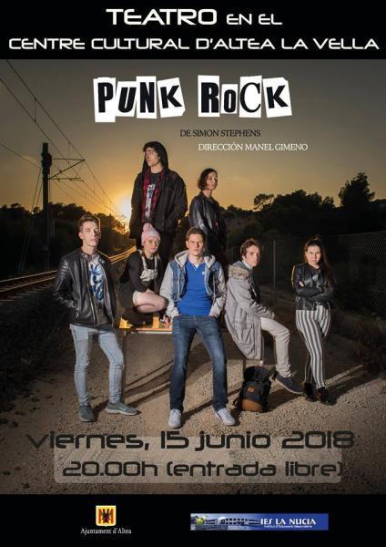 Teatro Punk rock en Altea la Vella