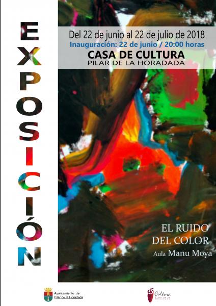 """Exposición: """"El ruido del color"""" a cargo de los alumnos del Aula Manu Moya en Pilar de la Horadada 2018"""