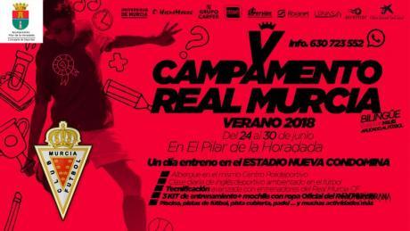 """Campamento """"Bilingüe"""" Verano Real Murcia CF -Clases de inglés aplicado al fútbol- en Pilar de la Horadada 2018"""