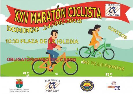 Maratón ciclista popular para todas las edades en Pilar de la Horadada 2018