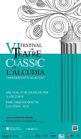 VI Festival de Teatre Clàssic de L´Alcúdia.