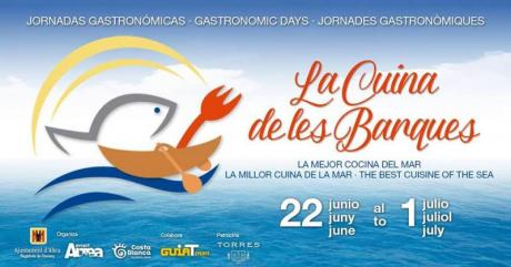 """Jornadas Gastronómicas """"La Cuina de les Barques"""" en Altea"""