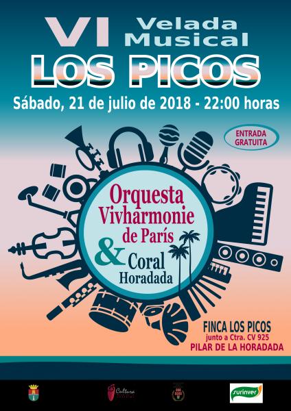 VI Velada Estival Musical Los Picos en Pilar de la Horadada 2018