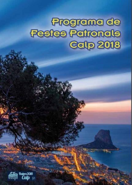 """Fiestas Patronales """"Virgen de las Nieves Calp 2018"""""""