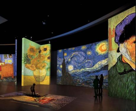 Van Gogh Alive. The experience. Alicante 2018
