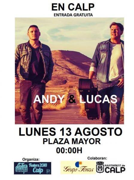 Concierto Andy & Lucas