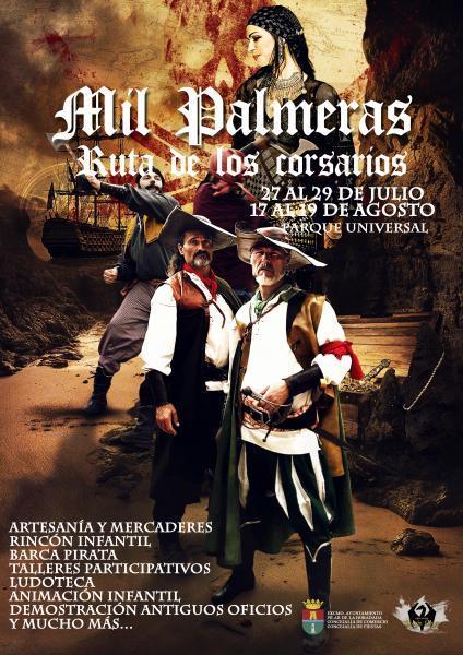 Ruta de los corsarios 'Mercado Pirata de Mil Palmeras' 2018