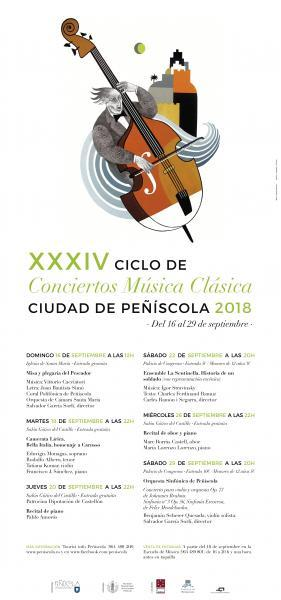 XXXIV Ciclo de conciertos de música clásica
