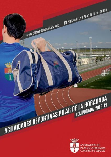 Actividades deportivas invierno 2018/2019 Pilar de la Horadada