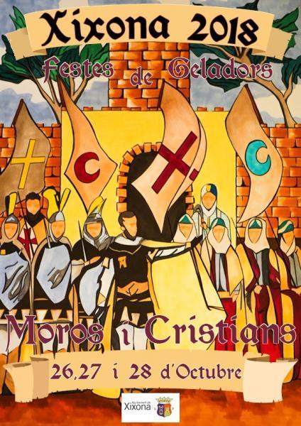 FIESTAS DE MOROS Y CRISTIANSO DE LOS HELADEROS