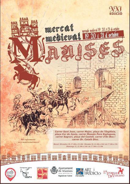 XXI Mercat Medieval- Manises