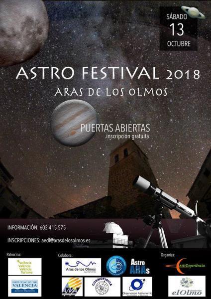 ASTRO FESTIVAL -ARAS DE LOS OLMOS 2018