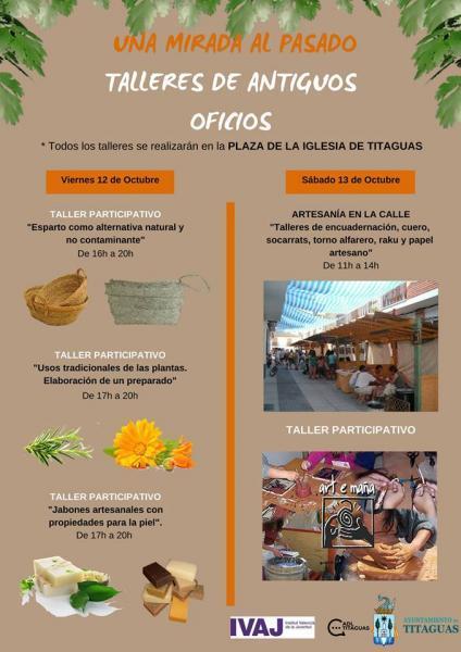 TALLERES DE ANTIGUOS OFICIOS- TITAGUAS 2018