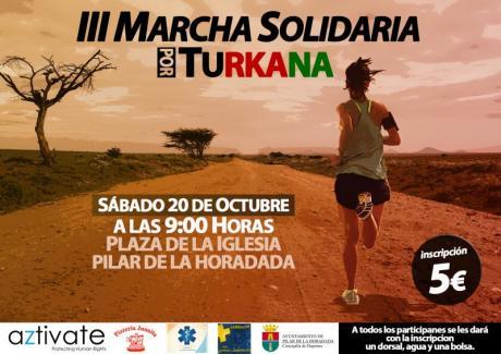 III Marcha Solidaria por Turkana en Pilar de la Horadada 2018