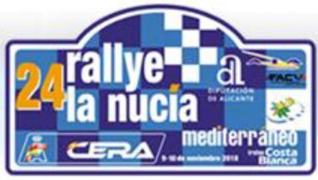24th Rally La Nucia- Mediterráneo in Xaló