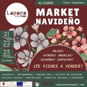 Market Navideño en Alicante 2018