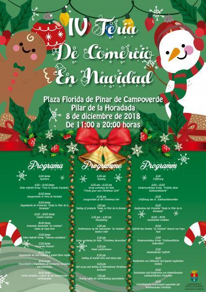 IV Feria de Comercio en Navidad en Pinar de Campoverde, Pilar de la Horadada