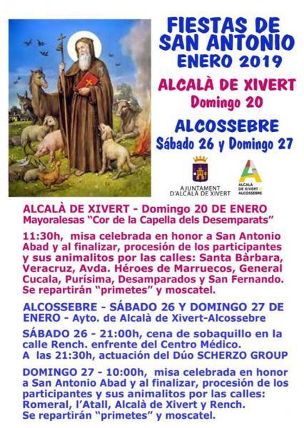 Fiesta de San Antonio Abad en Alcalà de Xivert - Alcossebre