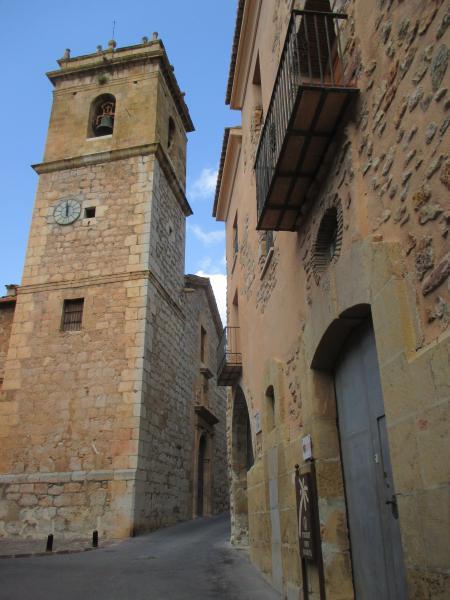 Visita guiada a la Iglesia de San Bartolomé y su entorno.