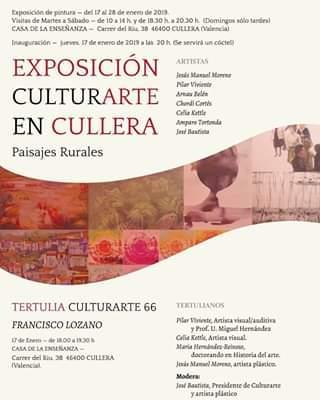 EXPOSICIÓN PINTURA CULLERA