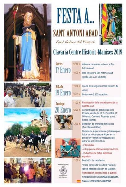 San Antonio Abad Manises 2019