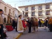 San Antonio y San Honorato en Benigembla