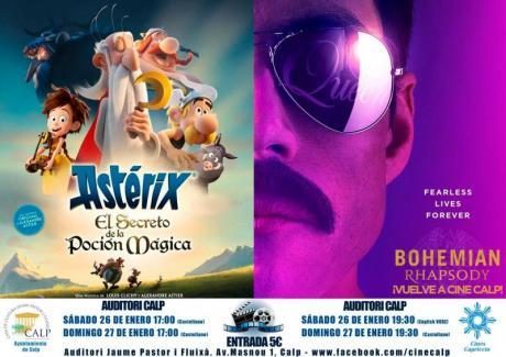 Cine Casa Cultura 26 y 27 enero