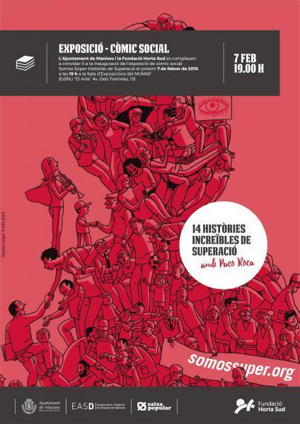 "Exposición ""Somos Súper – Històries de Superació"""