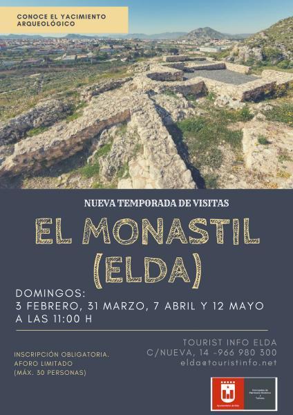 Visitas guiadas al Yacimiento del Monastil